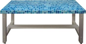 panca bagno turco mosaico