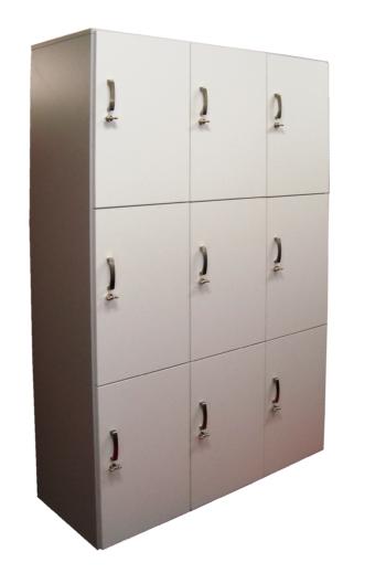 armadio casellario portavalori 9 ante bianco