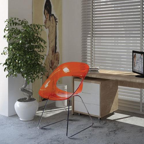 sedie design trasparenti