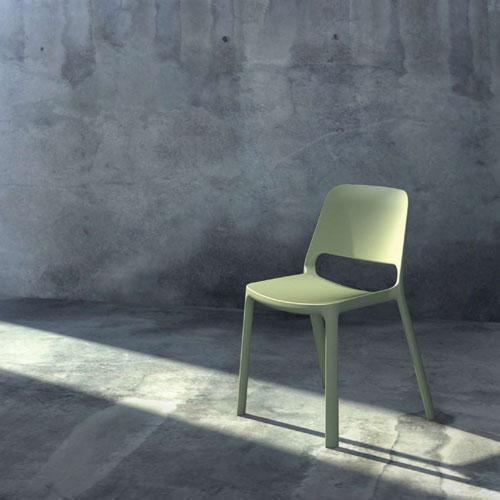sedie design impilabili